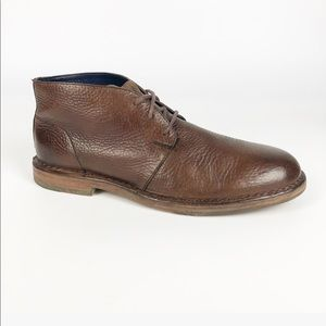 Cole Haan Brown Leather Ankle Boots